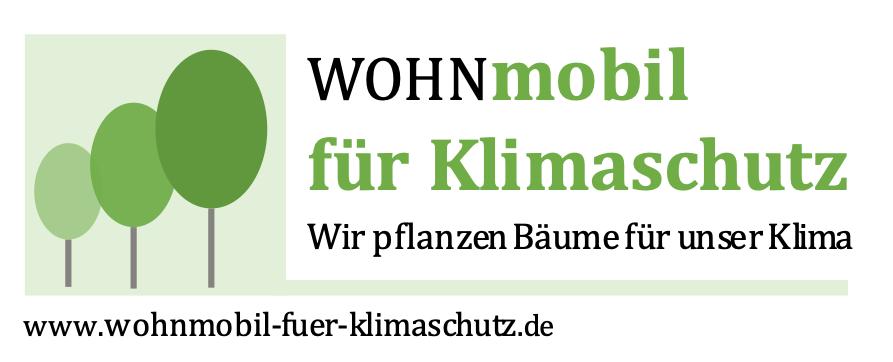Wohnmobil für Klimaschutz Logo